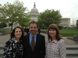 Hill Visits, April 23, with our fabulous Utah delegation