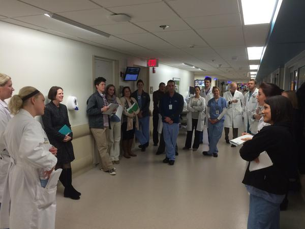 Trauma Team Rounds at BJH