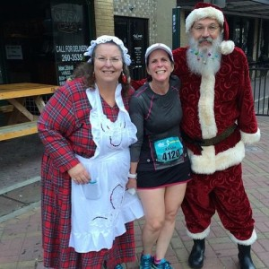 Santa & Mrs. Claus, Mile 8.